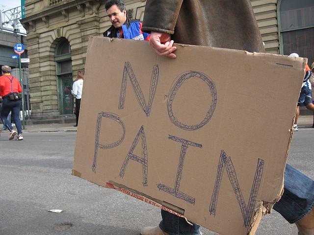 sign no pain