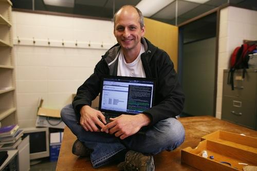 Matt on Desk