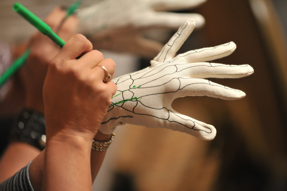 Anatomy Glove Drawing